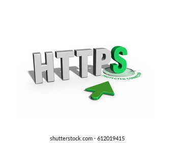 HTTPS Protected connection; https secure protocol; secure connection; online security; Secure networks, Safe Browsing;