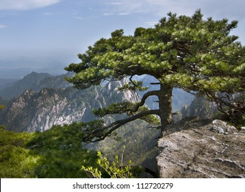 "Huangshan, ""Yellow Mountain"" in eastern China. A subject of traditional Chinese paintings and literature, modern photography. UNESCO World Heritage Site, and one of China's major tourist destinations."