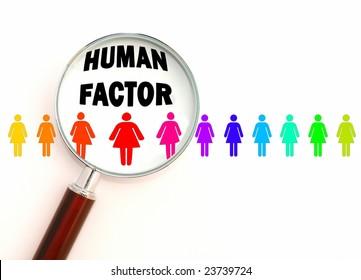 Human factor - color version
