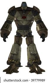 humanoid robot tank