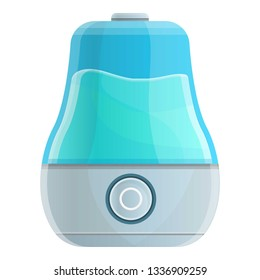 Humidifier icon. Cartoon of humidifier icon for web design isolated on white background