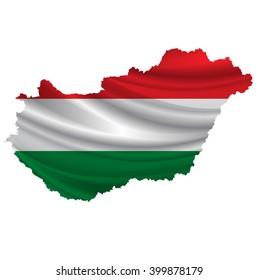 Hungary.Flag map icon