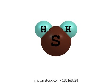 Hydrogen sulfide is the chemical compound with the formula H2S. It is a colorless gas with the characteristic foul odor of rotten eggs; it is heavier than air, very poisonous, and explosive.