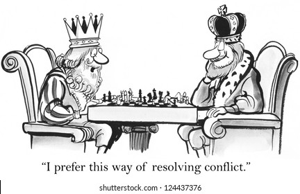 """""""I prefer this way of resolving conflict."""""""
