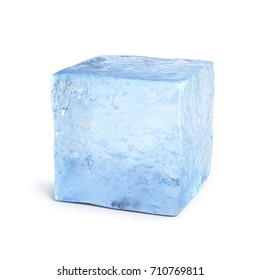 Ice block 3d rendering