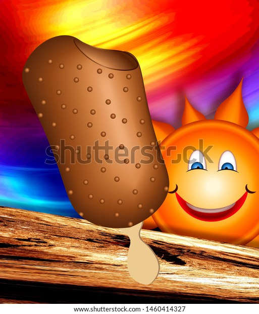 ice-cream-sun-background-bright-600w-146