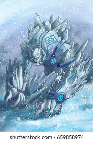 Ice guard - Concept Art