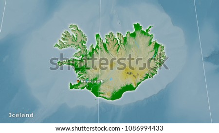 Iceland Area On Topographic Physical Map Stock Illustration ... on main cities in iceland, satellite map of iceland, large map of iceland, capital region iceland, temperature map of iceland, landform of iceland, famous people from iceland, blue lagoon iceland, vegetation map of iceland, printed map of iceland, detailed map of iceland, capital of iceland, a map of industries in iceland, population density of iceland, topographical map of iceland, time zone of iceland, political map of iceland, topographic map of iceland, map of hotels in iceland, physical features of iceland,