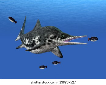Ichthyosaur Stenopterygius Computer generated 3D illustration