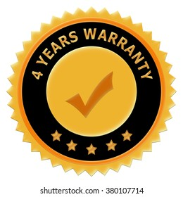 Icon 4 years warranty