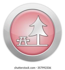 Icon, Button, Pictogram with Picnic Area symbol