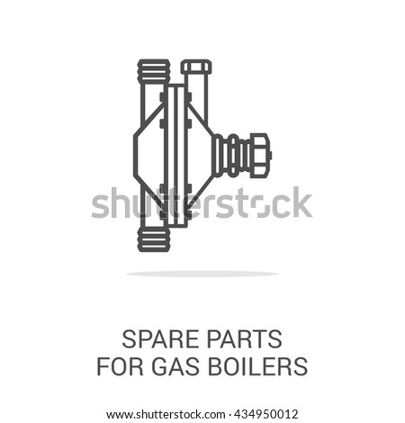 Icon Spare Parts Gas Boilers Spare Stock Illustration 434950012 ...