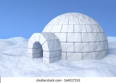 Eskimo Igloo Images, Stock Photos & Vectors | Shutterstock