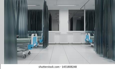 Hospital Room Night Time