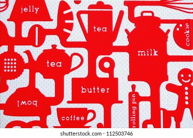 Illustrated components of teatime