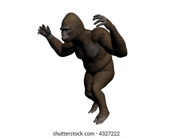 Illustrated Gorilla