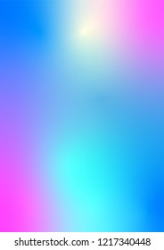 illustration of abstract bright colorful background template