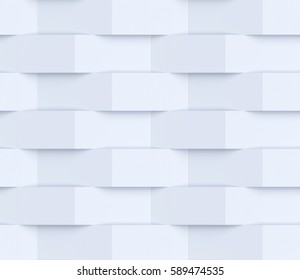 Illustration of abstract mosaic background. 3d render
