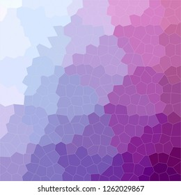 Illustration of abstract Purple Little Hexagon Square background.