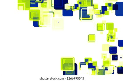 Illustration - Abstract squares background
