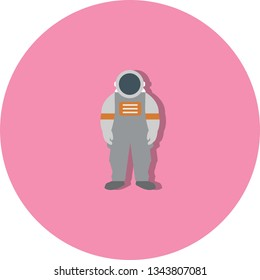 Illustration Astronout Icon