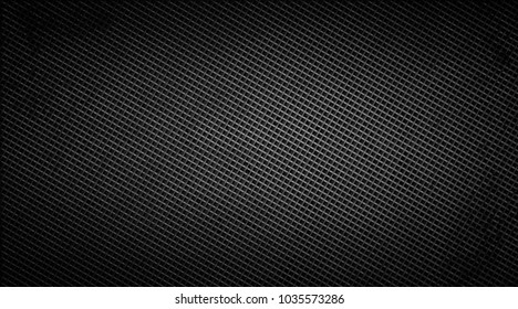 Illustration of a black mesh. Dark background.