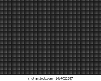 Illustration of a black square gradient for use as a background or wallpaper