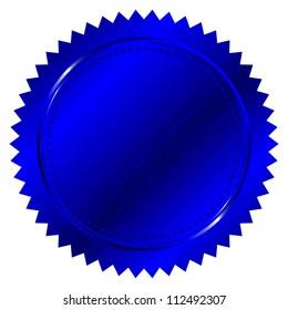 illustration of blue seal
