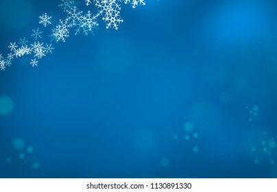 Illustration of a blue and white Christmas snowflake pattern, textured abstract background.