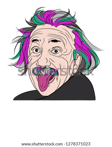 Illustration by Albert Einstein