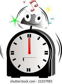 Royalty Free Stock Illustration Of Illustration Cartoon Clock