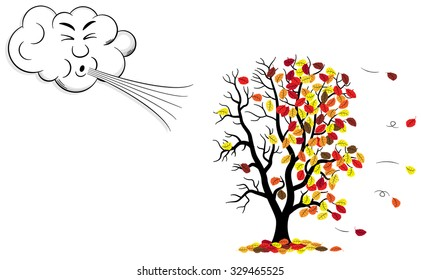 Wind Blowing Clip Art