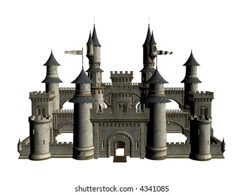 Illustration of a castle
