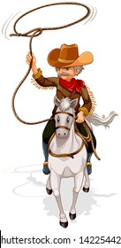 Rope Frame And Cowboy Hat Royalty Free Cliparts, Vectors, And Stock  Illustration. Image 57875022.