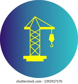 illustration crane Icon for your Project.