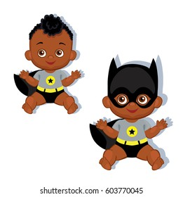 Black American Helping Child Stock Illustrations Images Vectors