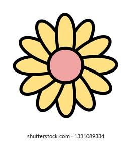 Illustration Daisy Icon