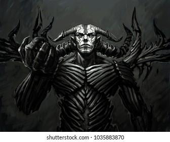 Demon Images, Stock Photos & Vectors | Shutterstock