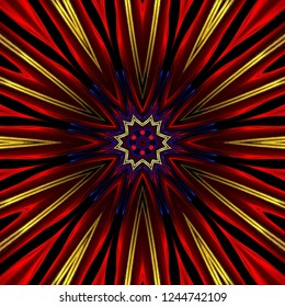 illustration, design, abstract, background, multicolored, kaleidoscope, bright, flower, seamless, texture, pattern, decorative, beautiful, geometric, unique, color, kaleidoscopic, art, decoration, gra