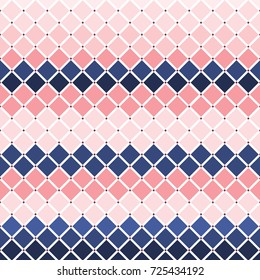 Illustration of diamond checker tiles background.Stylish diamond shape pattern design/Diamond Tiles