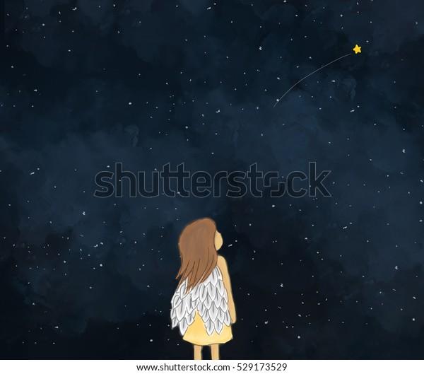 Illustration De Stock De Illustration Dessin Dune Petite