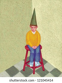 illustration of Dunce