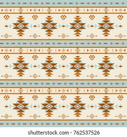 Illustration of ethnic Southwestern inspired pattern design.