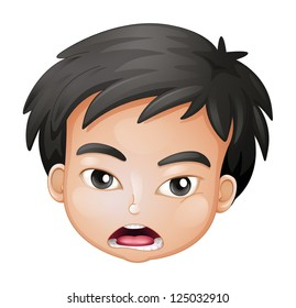 Cartoon Boy With Brown Hair Hd Stock Images Shutterstock