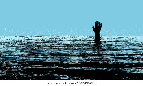 Drowning Images, Stock Photos & Vectors | Shutterstock