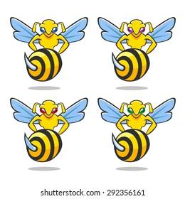 illustration hornet power