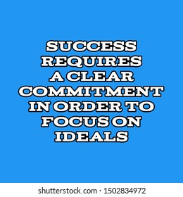 Commitment Quotes Images, Stock Photos & Vectors | Shutterstock