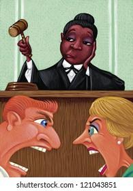illustration of Judge