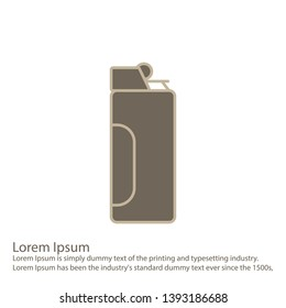 illustration lighter Icon for your Project.