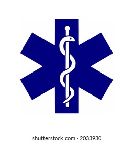 Illustration of the medical symbol